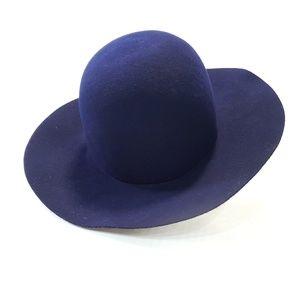 NWOT Vintage Wool Doeskin Geo W Bollman Felt Hat